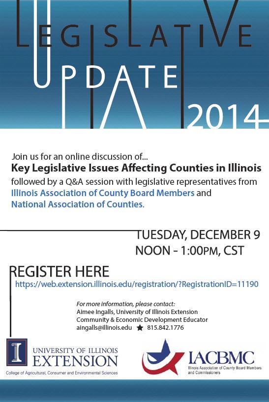 Legislative Update 2014