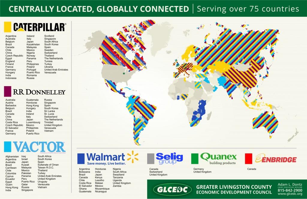 GLCEDC World Map