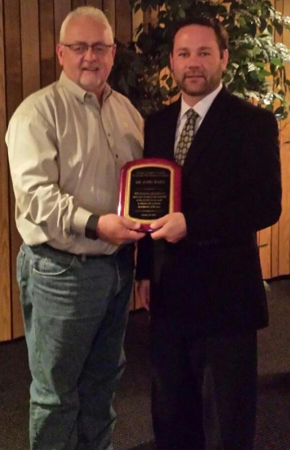 John Ward Award 10.19.15